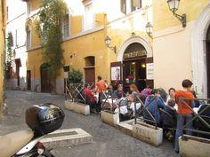 Dar Poeta-our favourite pizzaria , Trastavere, Rome. Scrummy!!