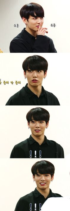 JK's facial expressions are the best