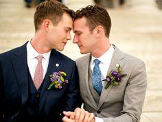 Lgbt Wedding, Wedding Poses, Wedding Men, Wedding Ideas, Wedding Suits, Wedding Decor, Wedding Attire, Wedding Inspiration, Cute Gay Couples