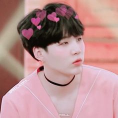 Image result for yoongi pink aesthetics