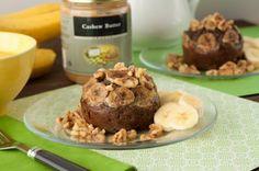 #vegan (use flax/chia eggs) #Grainfree Banana Bread Protein Cake by Healthful Pursuit