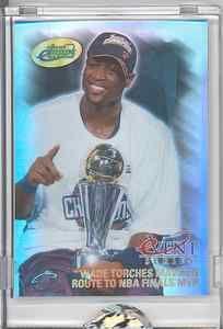 2007 eTopps in Hand Dwyane Wade Miami Heat D 640 1161 NBA Finals MVP Champion | eBay