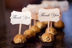 Chocolate Wedding Favors - Shop for Gold foil wrapped Lindt and Sprungli Lindor white chocolate truffles at http://www.roundeyesupply.com/Lindt-and-Sprungli-Lindor-Truffle-White-Chocolate-p/de529784.htm