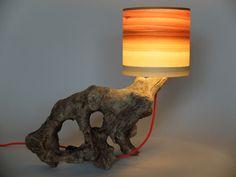 Tischlampe Lupus - Upcycling von LuxUnica