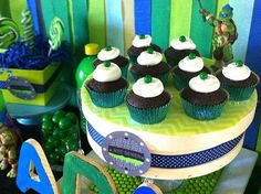 Teenage Mutant Ninja Turtle Party | CatchMyParty.com
