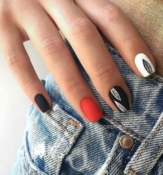 Matte nails are so popular in the beauty world these days. In case you were looking for perfect nails, we have picked out 40 matte nail designs for you to try. Colorful Nail Designs, Acrylic Nail Designs, Nail Art Designs, Matte Nail Colors, Matte Acrylic Nails, Color Nails, Gold Glitter Nails, Pointed Nails, Almond Nails Designs