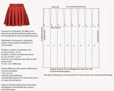 Los Cuadernos de Estudio Mania: CONSTRUCCIÓN REGLAS falda plisada