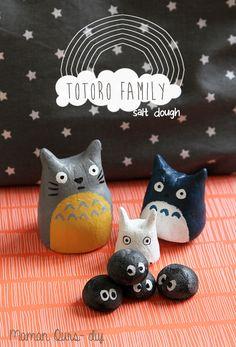 Supplies 58203 My neighbor Totoro in salt dough - Mother Bear-DIY Diy For Kids, Crafts For Kids, Fun Crafts, Arts And Crafts, Mother Bears, My Neighbor Totoro, Neighbor Gifts, Girls Anime, Salt Dough