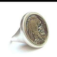 Metta Metalworks - Hobo Nickel ring