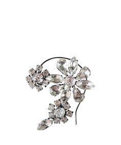 Emanuele Bicocchi Crystal flower Ear Cuff | Lindelepalais.com 14953