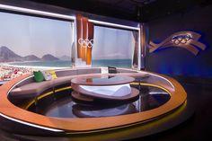 Tv Set Design, Stage Set Design, Booth Design, Studio Desing, Virtual Studio, Ard Buffet, Desk Inspiration, Tv Sets, Tv Decor