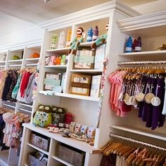 Tailored Living installed these cabinets in the Totsie Children's Boutique in Newport Beach | Yelp Bridal Boutique Interior, Boutique Decor, Children's Boutique, Boutique Homes, Boutique Design, Boutique Ideas, Mobile Boutique, Baby Store Display, Clothing Store Displays