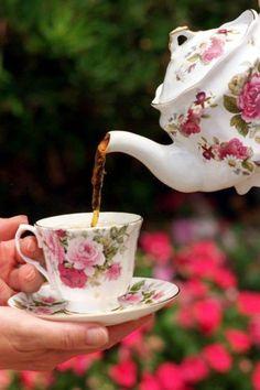 enchanted-barnowlkloof:  Tea Time