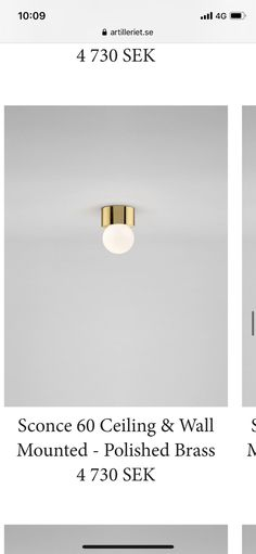 Polished Brass, Wall Mount, Sconces, Ceiling, Home Decor, Chandeliers, Ceilings, Decoration Home, Wall Installation