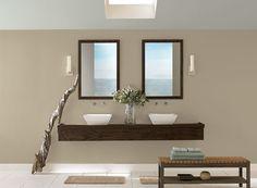 "Benjamin & Moore Paints   2012 ""All Natural Bathroom Retreat"""