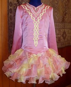 Such a pretty irish dance dress :) - I like the shade variation in the skirt