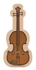 NEW! Mini Violin Notepad (SE-755)