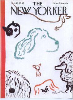 Abe Birnbaum cover | The New Yorker 1962(via Stephanie Birdsong (skbird1) on Pinterest)