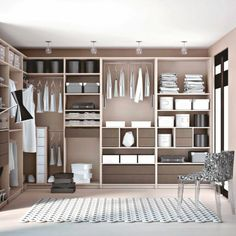 1000 images about dressing on pinterest deco ps and closet - Dressing ouvert chambre ...