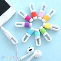 Wish | Protector Saver Cover Phone Lightning USB Charging Cable Headphone Cord