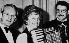 Willi Münch, Paula Münch und Herbert Bausemann - große Namen in der Geschichte deutscher Akkordeonorchester, besonders verbunden mit dem Nürnberger Akkordeonorchester Willi Münch e.V. Stichworte: #Accordion, #Player, #Conductor, #Composer, #Arranger