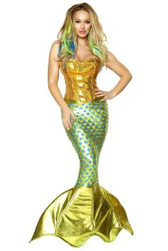 Siren of the Sea Mermaid Costume