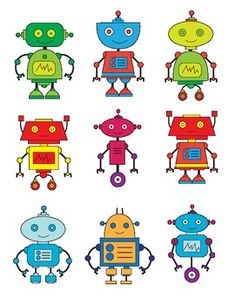 9 different robot clipart images perfect for any classroom teaching robotics or stem classes. Contains: 1 pdf - bl&wh 1 pdf - color Because I design and create all my work, I can customize anything to meet your needs. Please message me if you would like any of these things or