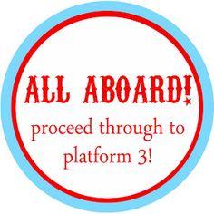 Phoenix Event Planning: Choo Choo Train Party With Free Custom Designed Printables! Thomas Birthday Parties, Trains Birthday Party, Train Party, Birthday Party Themes, Birthday Ideas, 4th Birthday, Train Crafts, Choo Choo Train, Thomas The Train