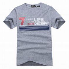 ralph lauren outlet online uk EA7 Emporio Armani Stripe 7 Stretch Cotton Crew Neck Short Sleeve T-Shirt Grey http://www.poloshirtoutlet.us/
