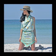 Unique silk scarves by ANNE TOURAINE Paris™