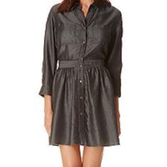 ✨Flash Sale $39✨ Sam Edelman NWT shirt dress Sam Edelman Dresses