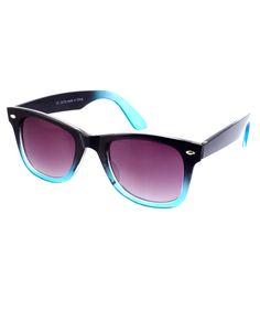 River Island Dip Dye Wayfarer Sunglasses #wayfarers #asos #dipdye
