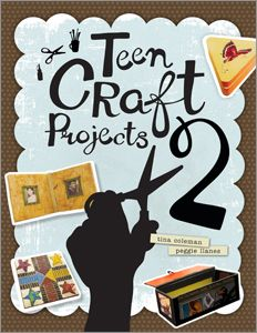 The Hipster Librarian's Guide to Teen Craft Projects 2 - Books / Professional Development - Books for Public Librarians - New Products - Products for Young Adults - ALA Store Teen Programs, Youth Programs, Library Programs, Teen Projects, Book Projects, Craft Projects, Craft Ideas, Activities For Teens, Crafts For Teens