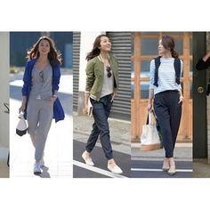 #ユニジョ投稿増から商品化 ユニクロ新定番ジョガーパンツに女性用が登場