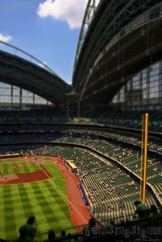Miller Park...our favorite season is so close, we can almost taste the brats...