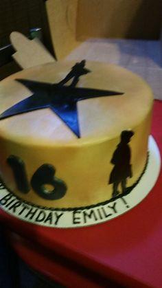 Hamilton Birthday Cake