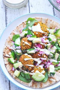 How To Make Baked Sweet Potato Falafel www.caseyjade.com