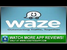 Waze iPhone App Review - Waze App - Navigation Apps