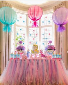 birthday party decorations 696861742322443092 - Ideas Baby Shower Girl Decorations Diy Tulle Balloons For 2019 Source by Unicorn Themed Birthday Party, 1st Birthday Parties, Birthday Ideas, Unicorn Party Decor, Girl Baby Shower Decorations, Birthday Party Decorations, Wedding Decoration, Tulle Decorations, Art Festa