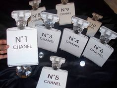 Great for Hens Parties, Chanel Themed Parties, Fashion events and general girly events big and small