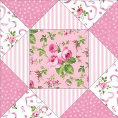 Pink Ribbon Quilt Kit