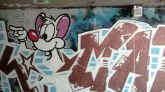 Canal Saint Martin September 2014 #streetart #grafitti #tag