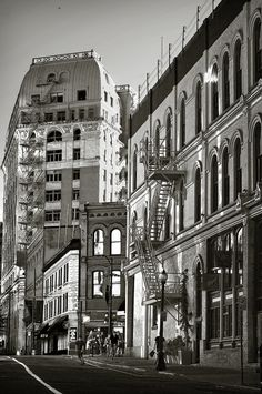 Gastown Architecture by Carol How #Vancouver