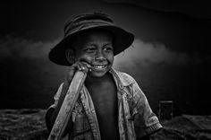 Young Boy of a Stone-Collector in Bholaganj, Sylhet, Bangladesh