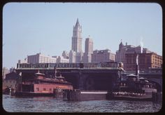 New York Ferries, 1941  -Hoboken Lackawanna Terminal