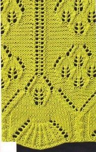 Mintakollekció: azsúr  íves minták  | Kötni jó - kötés, horgolás leírások, minták, sémarajzok
