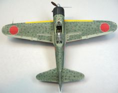 Mitsubishi A6M3 Zero Fighter 1/72 Scale Model