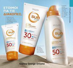 Η Sun Zone έχει συνδυάσει τα φίλτρα UVA και UVB με αντιοξειδωτική βιταμίνη Ε για έναν ήπιο τύπο που προστατεύει το δέρμα της οικογένειάς σας. Προσφέροντας μια σειρά προϊόντων ηλιακής φροντίδας, όπως αντηλιακή προστασία, όμορφες βυρσοδεψίες και χαλαρωτικά προϊόντα μετά την ηλιοθεραπεία. Oriflame Cosmetics, Lotion, Shampoo, Personal Care, Personal Hygiene, Lotions