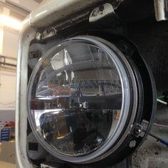 Adapterringe Truck-Lite LED-Scheinwerfer für VW T3, Edelstahl, 5