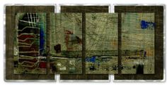 """48x24 Ruth Palmer green feeling modern wall art, metal wall sculpture by ASH CARL DESIGNS. $513.60. Hangs in 15 minutes!. Size: 23.5"""" T x 48"""" W Inches. High Quality Welded and Bolted Construction. Corrosion Resistant Finish. Painted Steel. Make a design statement with this """"Green Feeling"""" metal wall sculpture by Ruth Palmer. These metal wall hangings consist of torch-cut 18-gauge steel layers, stud construction, and one-of-a-kind hand-sanding, which creates a three dimension..."""